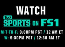 Ver TMZ Sports en el FS1