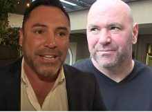 "Oscar De La Hoya se despide en Dana White, ""calla la boca"""