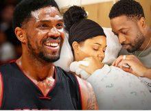 Udonis Haslem de la NBA para Dwyane Wade, hágame el padrino!