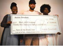 & # 39; & # 39 imperio; Star Jussie Smollett dona más de 125.000 dólares para las instituciones de caridad antes de las vacaciones