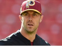 Alex Smith luchando contra la infección después de la lesión en la hortera horrible, NFL Career En Jeopardy