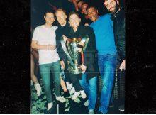 Campeones de la MLS traen trofeo al famoso Booty Club de Atlanta