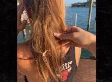 Estrella de & # 39; Vanderpump Rules & # 39; Brittany Cartwright Obtiene Gum Ponga en su pelo después de la lucha