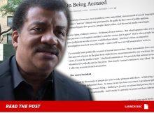 Neil deGrasse Tyson responde a las alegaciones de conducta sexual inapropiada