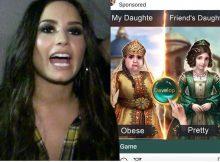 Demi Lovato rasga el Instagram por usar anuncios de engordar, IG pide disculpas
