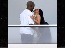 Kim Kardashian y Kanye West se ven en el nuevo condominio de 14 millones de dólares en Miami Beach