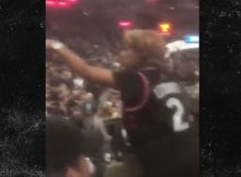 Madre de Kawhi Leonard detona Heckler en el juego Spurs, & # 39; Shut Up, A-Hole & # 39;