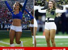 Rams vs. - Saints Cheerleaders - ¿Quién preferirías?