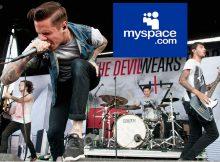 El diablo usa canciones perdidas de Prada en Myspace, pero la banda no está loca