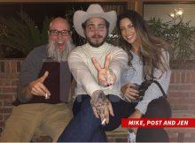 Post Malone voló & # 39; Wow & # 39; bailarín para concierto y nuevo videoclip