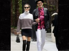 Jeff Goldblum y Emilie Livingston son objetivos de la pareja en Melrose