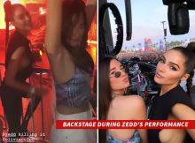 Zedd, Olivia Culpo se quedó muy coqueteada durante el primer fin de semana en el Coachella